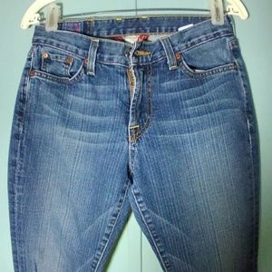 Sz 2 Lucky Brand Classic Rider Jeans 28 x 30.5